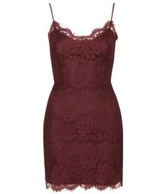 Topshop UK - Lace Bodycon Tunic