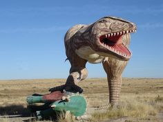 Roadside attractions on route 66