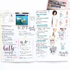 baekstudies: (rather messy) bujo spread for the... : studying & such