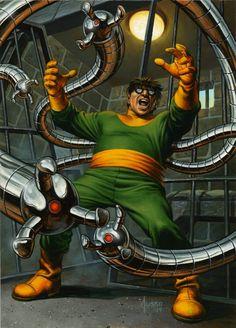 Dr. Octopus by Joe Jusko (2016 Marvel Masterpiece)