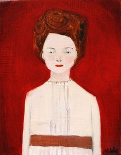 Lady on red - amanda blake