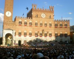 Siena Palio 2011 - can you stand the heat?