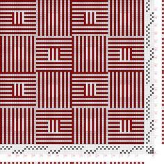 Hand Weaving Draft: Figure 1841, A Handbook of Weaves by G. H. Oelsner, 4S, 4T - Handweaving.net Hand Weaving and Draft Archive