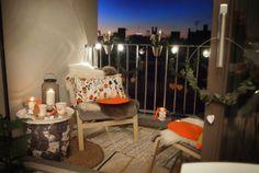 Meine kleine Winter Lounge - Dekoration für die kalten Tage: the-shopazine.de Lounge, Winter, Patio, Outdoor Decor, Home Decor, Cold, Christmas, Dekoration, Garten