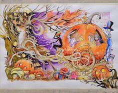 By Jongkie Art. #halloween