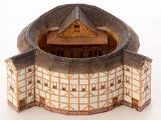 Shakespeares Globe Theatre Scale Model By Littledart  (LW17-1)