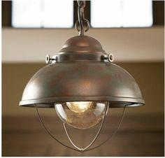 Fisherman's Pendant Light - eclectic - pendant lighting - Van Dyke's Restorers