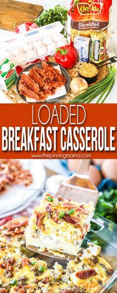 The BEST Hashbrown Breakfast Casserole!
