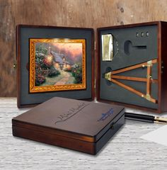 Mini Masters celebrates the joy of art in a miniature ensemble you can appreciate in your home or office. Over 40 of Thomas Kinkade's top selling images are available in the Mini Masters ensemble!