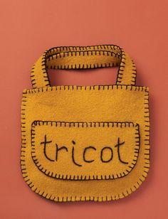 "Yarnspirations.com - Patons Felted ""Tricot"" Bag - Patterns  | Yarnspirations"