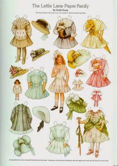 Lettie Lane paper doll.