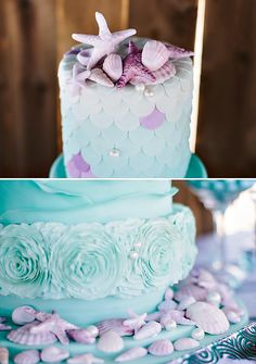 Gorgeous Ombre First Birthday {Under the Sea}