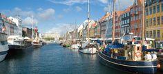 Picturesque Copenhagen, Denmark.
