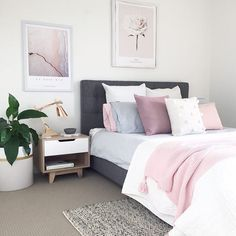 """121 Likes, 3 Comments - Canningvale Australia (@canningvalelove) on Instagram: """"Pretty in pink  A beautiful Scandi-inspired palette from  @myhomestyle89 featuring our Vintage…"""""""