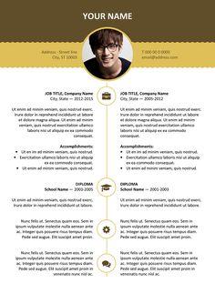 Hongdae Free Modern Resume Template Gray  Classic Resume
