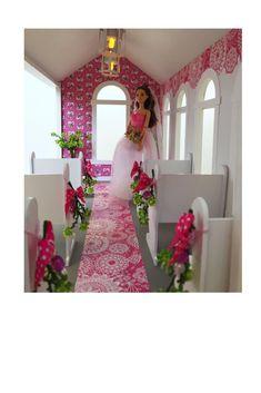 Barbie's Wedding Chapel Inside