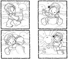 Secuencias Temporales para recortar y colorear!! - Betiana 1 - Λευκώματα Iστού Picasa