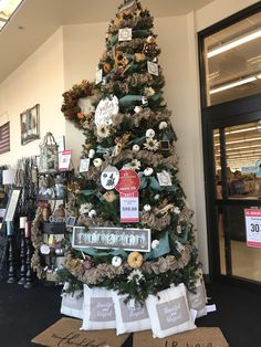 Thankful And Blessed, Fall Collections, Hobby Lobby, Christmas Tree, Holiday Decor, Ideas, Home Decor, Teal Christmas Tree, Decoration Home