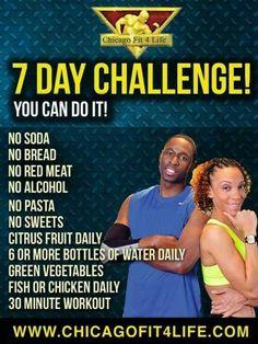 Seven day challenge