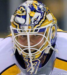 NHL Goalie Masks By Team | ... Predators - NHL Goalie Masks by Team (2011-12) - Photos - SI.com