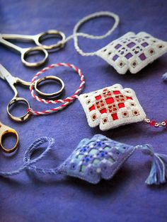 Hardanger Embroidery 20 Stunning Counted Thread by NeedANeedle, $24.75