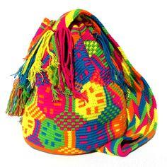 Wayuu mochila shoulder bag candy shop