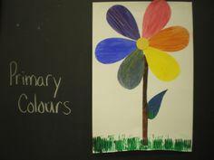 Mrs. Bremer's Kindergarten: The Colour Wheel: A Spring Art Lesson
