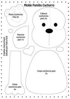 Baby Dress Template Quiet Books 18 Ideas For 2019 Dog Crafts, Baby Crafts, Felt Crafts, Love Sewing, Baby Sewing, Dog Template, Dress Template, Disney Quilt, Quiet Book Templates