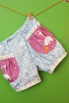 Oliver + S sewing pattern Puppet Show Shorts, Wombat Bloomers by badskirt - amy, via Flickr