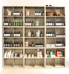 NEW BEAUTY PRODUCTS at the shop at HUMANOID*:  #AESOP, #MALINGOETZ  #FACESTOCKHOLM
