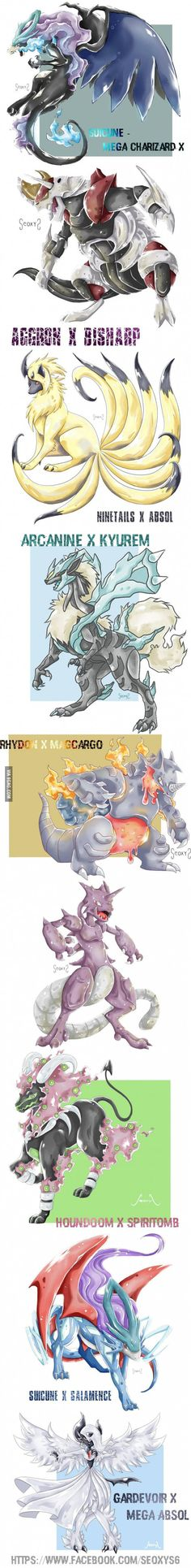 Pokemon Fusions.