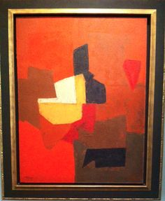 Serge Poliakoff -The Dream of Forms, Zeng Fanzhi