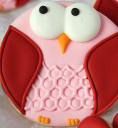 Baking In Heels. Pretty owls