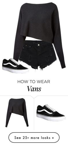 But with converse, not vans.
