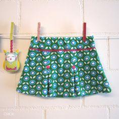 tricot plooirokje 1-5 jaar