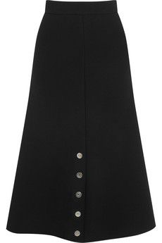 Balenciaga Embellished crepe skirt | NET-A-PORTER