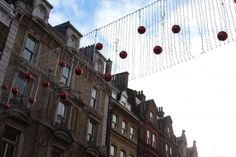 Covent Garden's Christmas decorations.