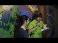 Day 9, Magic Kingdom: Peter Pan Looks Through My Autograph Book - YouTube