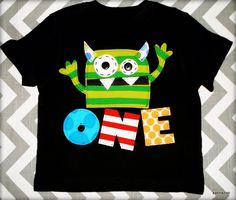 Birthday Age Monster by Xannazoo on Etsy https://www.etsy.com/listing/96412789/birthday-age-monster