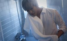 Daehyun what the why are you doing this to me i totally didn't expect this gif to do THAT! Daehyun why!!?