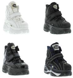 Buffalo Classic Shoe Boots/Booties  1348-14 Platform Trainers Sizes UK 3 - 12 #Buffalo #ShoeBootsBooties