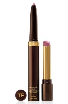 Tom Ford innovation meets lip artistry in this dual lip color and shaping tool. How to use: Sculpt with Lip Shaper to define and shape lips. Apply Lip Color with a brush or apply directly onto lips for your desired look.