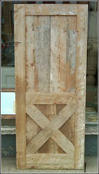 barn door. An idea for interior western and rustic appeal.