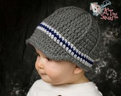 Crochet hat pattern Newsboy hat pattern crochet by ktandthesquid