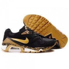 newest def65 5569f Nike Air Max 91 Men Black Gold Shoes by kfgba Air Max 2009, Air Max