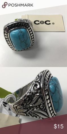 NEW Ring NEW ring. Size 8. Never worn. Sterling silver. ALL OFFERS ARE WELCOME. :) CbC  Jewelry Rings