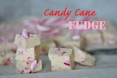 KakkuKatri: Helppo fudge Unicorn Party, Candy Cane, Fudge, Xmas, Sweets, Baking, Breakfast, Desserts, Recipes