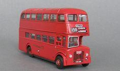 LD8 - scale model Little Bus, Bus Coach, London Transport, Buses, Scale Models, Transportation, Red, Busses, Scale Model