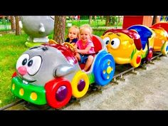 Funny Baby doing shopping Supermarket song for children - YouTube