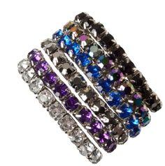 Crystal Stretch Bracelets @ Ricki's